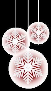 Christmas snowflakes image